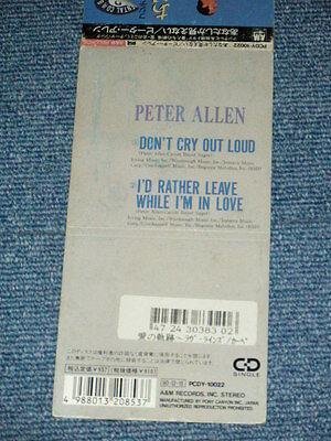 PETER ALLEN Japan Only 1990 Tall 3