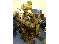 XYZ 2 AXIS CNC TURRET MILLING MACHINE