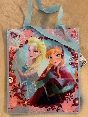 Elsa Halloween Treat Bag (NWT Disney Store Frozen Elsa Anna Shopping Tote Halloween Trick or Treat)