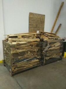 2 Cages of wood