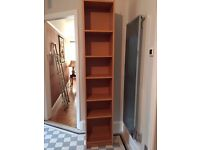 Billy Bookcase 40x20x202cms natural wood veneer