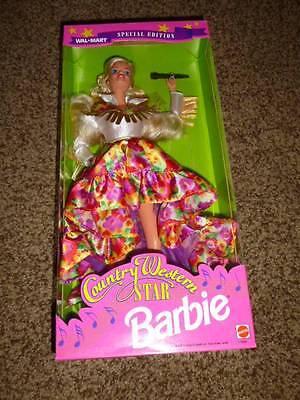 Vintage Barbie Country Western Star Blonde 11646 Walmart 1994 NRFB MIB Cowgirl