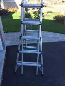 Heavy Duty 4 section extension ladder.