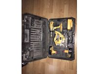 Dewalt XRP drill and jigsaw set with case, two batteries and charger, £99 no offers