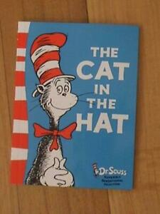 Dr Seuss The Cat in the Hat Paperback Book