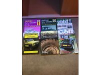 4 x 4 Suzuki Manuals and Golf Magazines