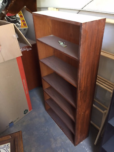 Brown Laminate Bookshelf
