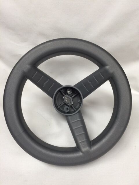 Power Wheels W9418-2379 Hot Wheels Jeep Steering Wheel Genuine Gray