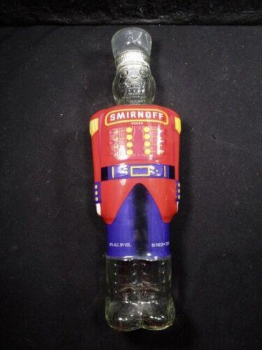 Smirnoff Vodka  Toy Soldier  NutCracker  Empty  Glass Bottle  Decanter