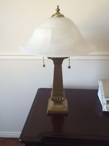 Set of side table lamps