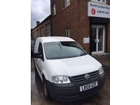 Volkswagen Caddy 1.9 C20 TDI 103 BHP - CD Player, Radio, Remote Central Locking. Ply-lined.