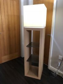 Lamp/Shelve Unit