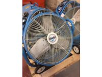 "Clarke CAM5002 24"" Drum / Barrel Electric Fans - 240V"