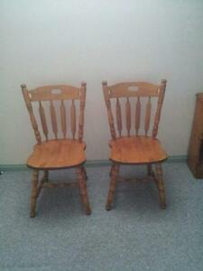 Free 2 Dinning Room Chairs