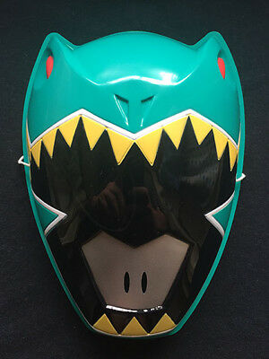 Power Rangers Zyuden Sentai Kyoryuger Zyudenchi Kyoryu Green PVC Child Mask New (Green Power Ranger Mask)