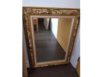 Decorative mirror measuring 80cms H x 60cms W