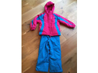 Ski Jacket and trousers size 5-6 years old
