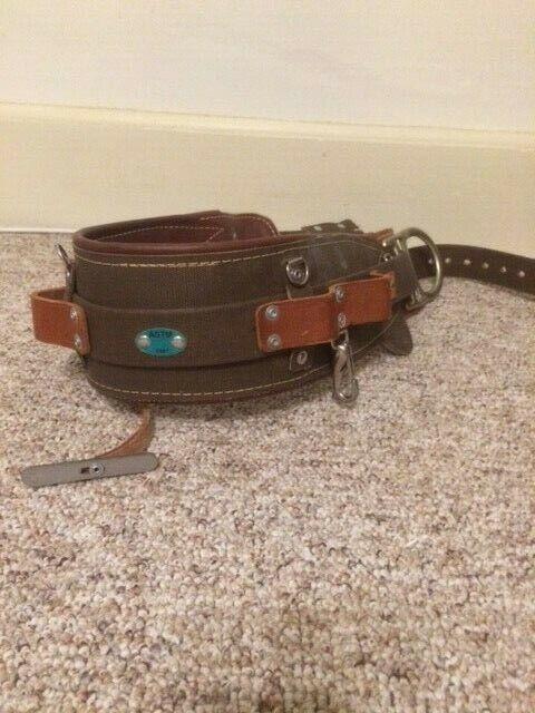 Bashlin lineman belt wrangler 2D-ring tool belt model 1511N