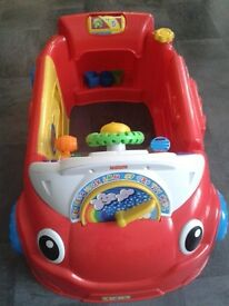 Fisher-Price Laugh and Learn Crawl Around Car.