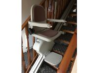 Acorn Stairlift in excellent condition - 2009. 13.5ft rail. Collection from Easingwold