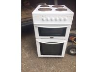 £93.99 Belling electric cooker+50cm+3 months warranty for £93.99