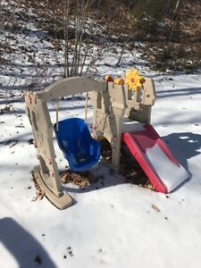 Little Tikes Hide and Seek Climber and Swingset