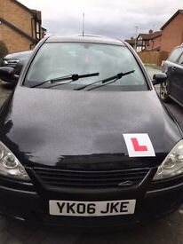 Black Vauxhall Corsa 1.2 SXi+ with privacy glass, Great Runner, Ideal First Car, Cheap to insure/run