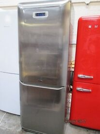 ***HoTpOiNt FFA45 Fridge Freezer Combination / FRIDGE FREEZER/FULLSIZE/ FULLY CHROMED/ /FROST FREE/