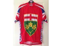 Men's Ontario cycling jersey