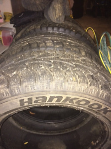 "set of 4 17"" tires  225/60R17 $125.00 OBO"