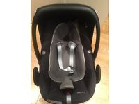 Almost new Maxi-Cosi Pebble Plus i-Size Baby Car Seat - Dark Grey