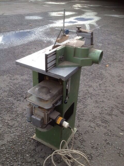 Elektra Beckum Spindle Moulder 240v Model Tf 100 In