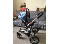 Vector 4 travel system, car seat & accessories