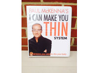 PAUL McKENNA's 4 cd system I CAN MAKE YOU THIN+ the book and cd inside