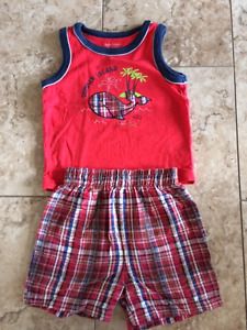 2 Piece Boys Set, size 12 months