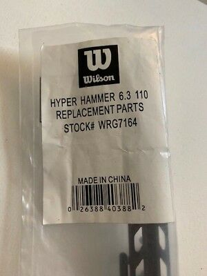 Wilson Headset (Wilson WRG7164 Hype Hammer 6.3 110 Original Grommet Set Head Guard Bumper)