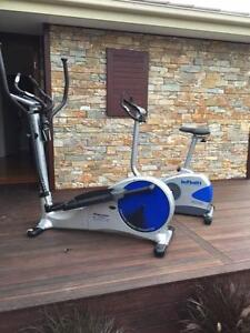 exercise bike & cross trainer Gladstone Park Hume Area Preview