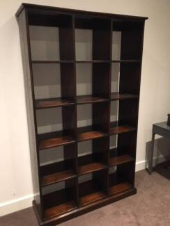 Timber Wall Shelving / Book Shelf