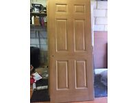 12 internal moulded 33' doors