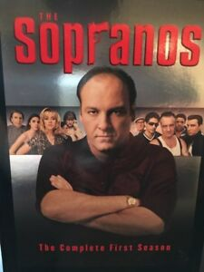 The Sopranos VHS and DVDs Seasons one thru six