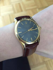 Vintage Original Mid-size Rolex Oyster Perpetual watch 1950s/60s