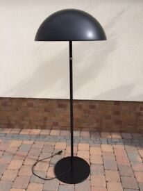Black Floor Lamp With Dimmer Control