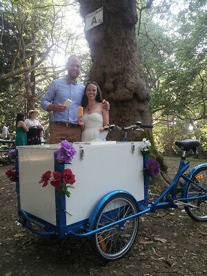 Icicle Tricycle Ice Cream Bike Royal Blue