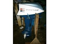 Evinrude 18hp Outboard Engine / boat Motor - Rebuilt - 3 Month Warranty