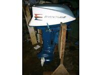 Evinrude 18hp Outboard Engine / boat Motor - Rebuilt - 3 Month Warranty