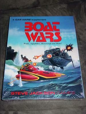 Boat Race Game (Steve Jackson Games 19@@ - BOAT WARS -  the classic race game)
