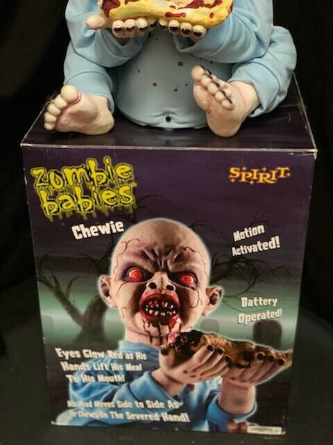 spirit halloween animatronics chewie ZOMBIE BABIES
