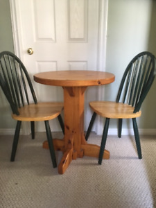 Bar Style Table & Chairs Set