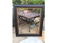 Extra Large Moulded Black Wooden Picture Frame