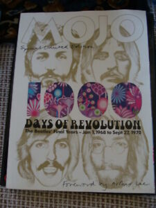 MOJO Magazine 2003 Special Limited Edition The Beatles 1000 Days